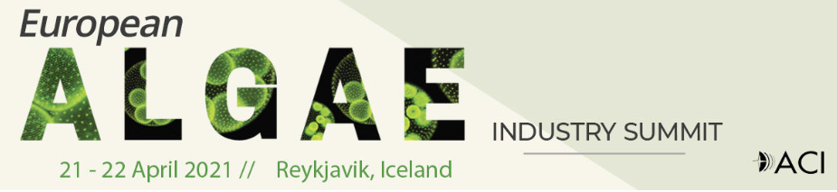 Early Bird Offers ends Thursday 24th December! 10th European Algae Industry Summit