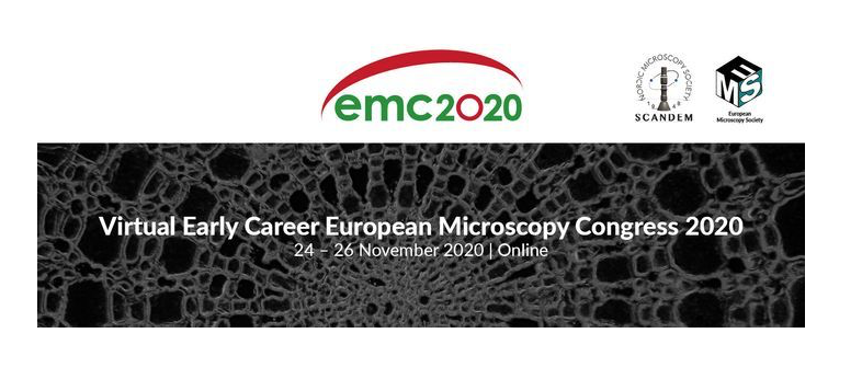 Virtual Early Career European Microscopy Congress 24 – 26 November 2020